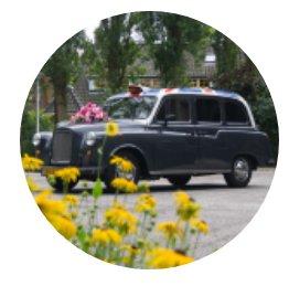 Klassieke Trouwauto huren in den Haag! Huur een Engelse Taxi in den Haag!